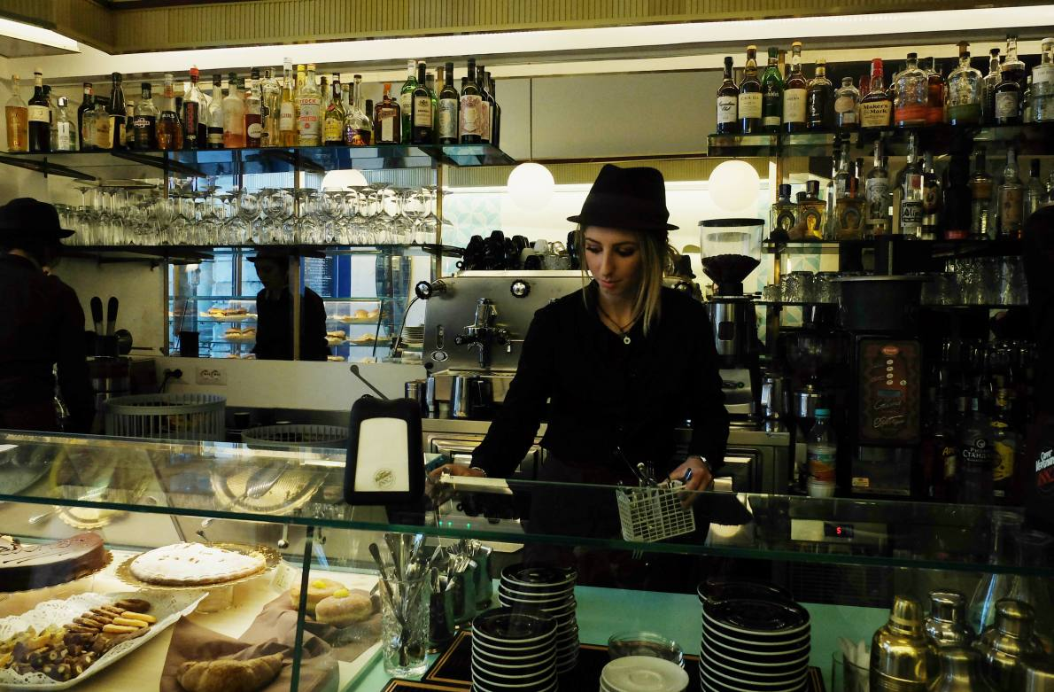 A new bar in Rome's Piazza Vittorio, called Gatsby Café, is leading the way for the renaissance of this misunderstood and overlooked Roman neighbourhood.