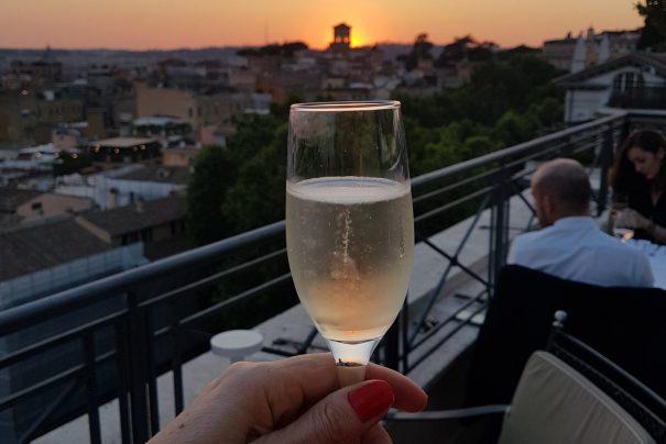 Best rooftop restaurants in Rome: The Flair, Hotel Sina Bernini Bristol