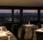 Vista Restaurant at Casina Valadier is one of the most breathtaking rooftop restaurants in Rome