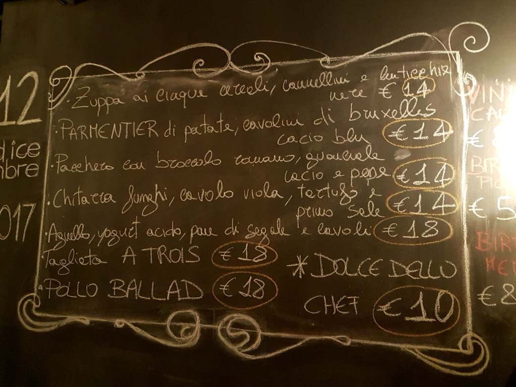 Ballad Caffè in Rome, a great jazz club which opened around 12 months ago in San Lorenzo, has remixed its menu thanks to sensational chef Andrea Zerilli.