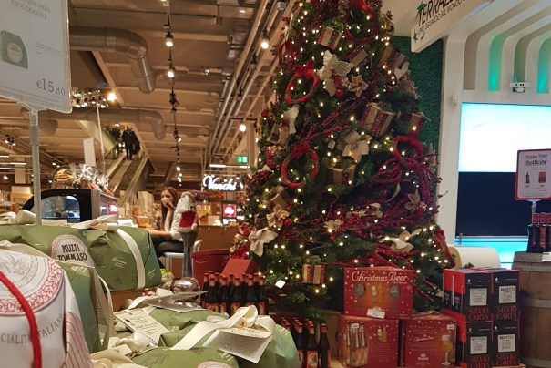 Eataly's Christmas dinner on December 7th will light up the night with star chef creations