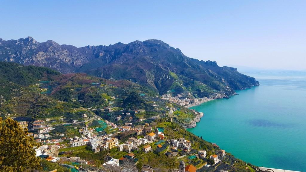 Hiking on the Amalfi Coast: How to hike from Ravello to Amalfi, walk from Ravello to Minori, or hike from Scala to Amalfi, with walking directions.