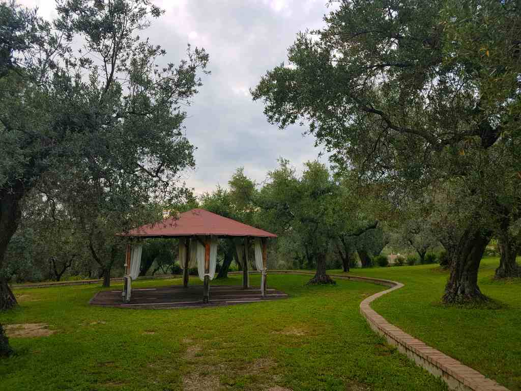 Il Bagolaro is an agritursimo or farmhouse stay in North Lazio, near Rieti, with a swimming pool and rustic restaurant for a break from Rome.