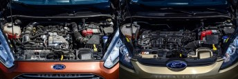 Ford Fiesta Ecoboost VS Duratec 43