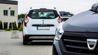 Biała Dacia Lodgy pakiet SUV 1,6 MPI LPG Szara Dacia Lodgy Stepway 1,5 dci