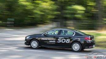 2015 Peugeot 508 1.6 e-THP 165 KM S&S fot. Jakub Baltyn
