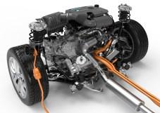 BMW 225xe, Antriebsstrang und Motor F45 005