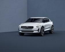 Volvo Concept 40.1 front quarter low