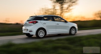 Hyundai i20 Active 1.4 CRDi fot. Maciej Kukiełka
