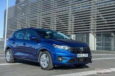 Dacia Sandero 2021 fot. Piotr Majka (11)