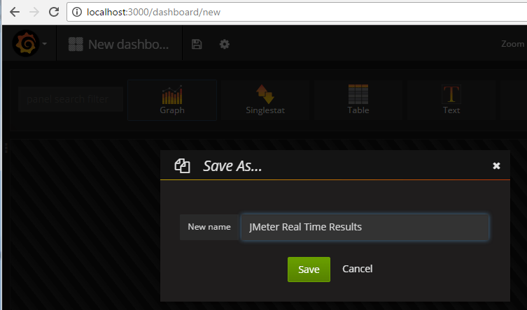 JMeter – Real Time Results – InfluxDB & Grafana