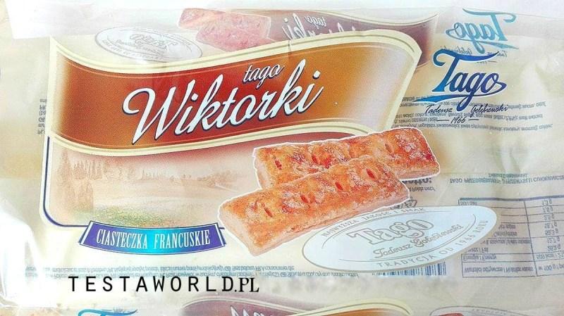 Ciasteczka Wiktorki firmy Tago