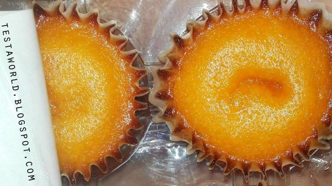 Babeczki inaczej ciastka Portugalskie o smaku biszkoptowo marchewkowym