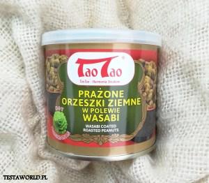 Recenzja Tao Tao prażone orzeszki ziemne w polewie wasabi