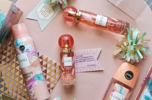 Zdjęcie zbiorcze nowego zapachu od marka C-Thru Harmony Bliss