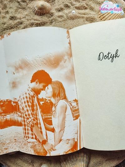 Wnętrze książki Dotyk