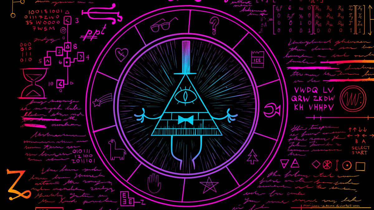 Gravity Falls Bill Cipher Wallpaper Hd Willkommen In Gravity Falls Quizzes