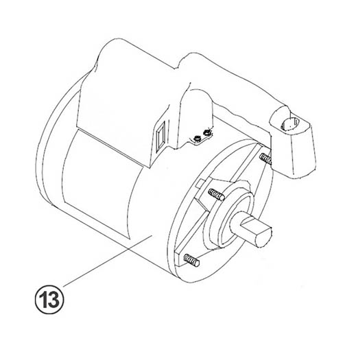Robinair 15365 Replacement Motor & Power Cord for 15400
