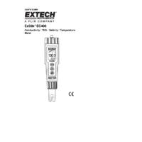 Extech EC400 ExStik II Conductivity, TDS & Salinity Meter