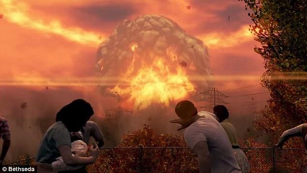Fallout 4, wybuch nuklearny