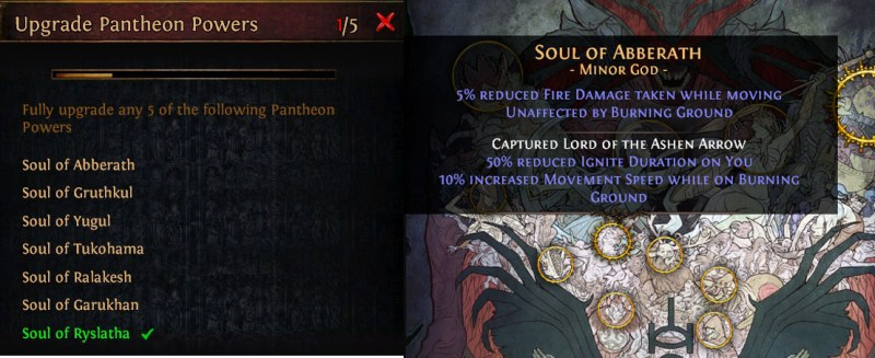 poe pantheon