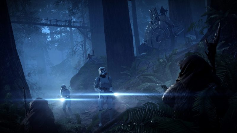 Battlefront 2 nowy patch night on endor