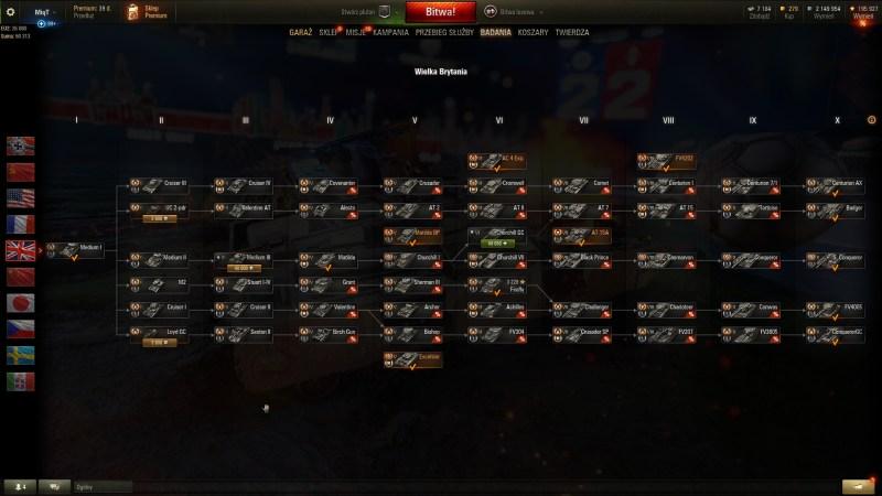 Czołgi Wielka Brytania - PORADNIK WOT