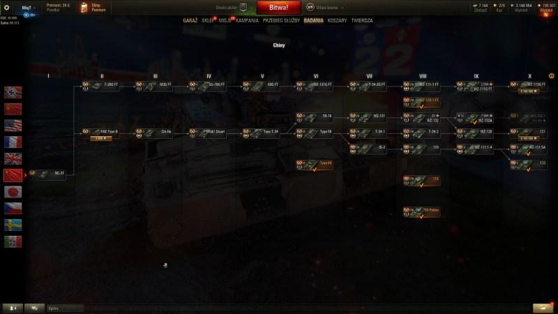 Czołgi Chiny - PORADNIK WOT