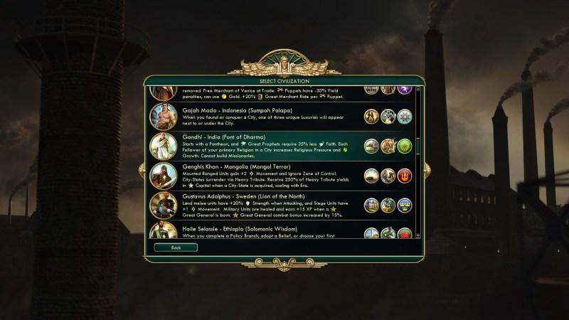 civilization 5 mody