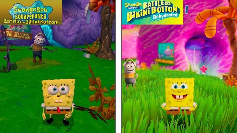 spongebob squarepants battle for bikini bottom rehydrated recenzja
