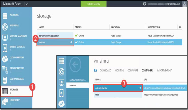 How to Upload a Virtual Machine to the Cloud for Microsoft Azure