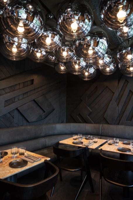 Coal office restaurant
