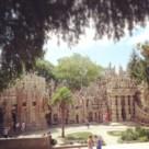 Façade est du Palais Idéal du Facteur Cheval
