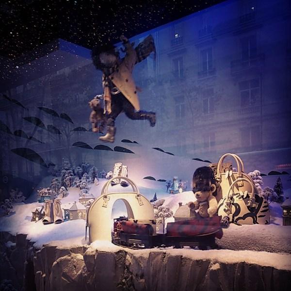 vitrine Noel