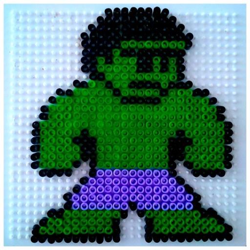 Hulk perles à repasser ikea