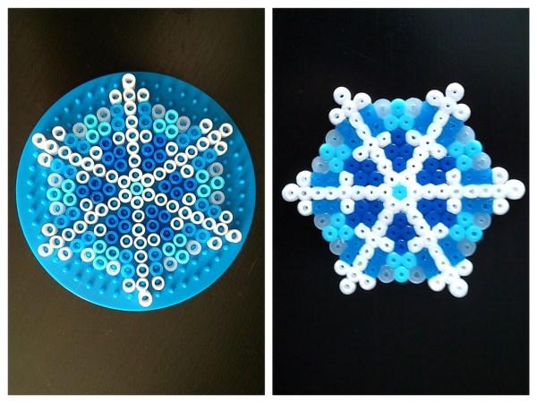 Flocon Frozen perles à repasser