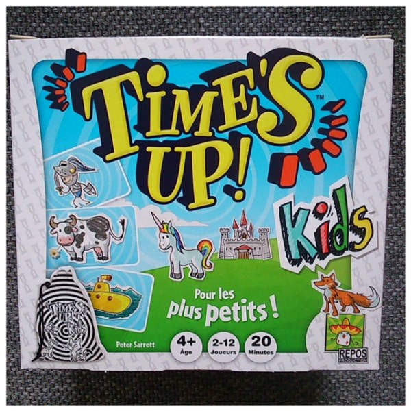 Time's up kids boite