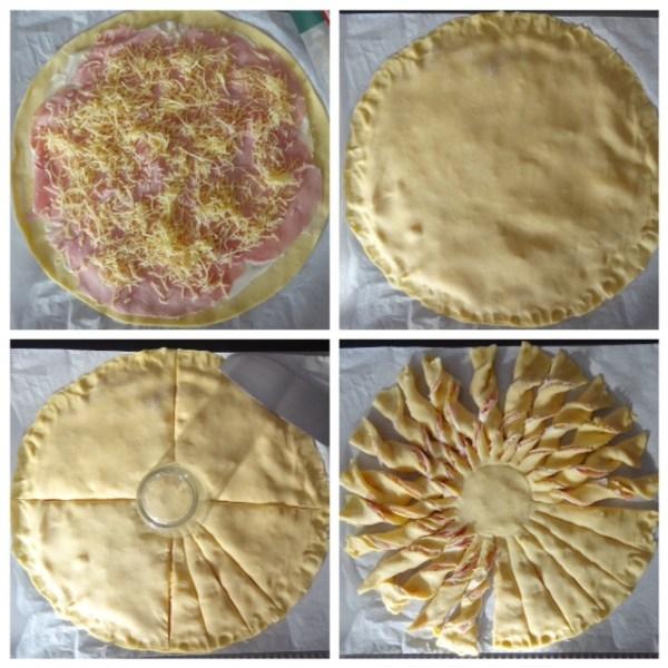 Comment faire une tarte soleil en 4 étapes