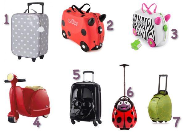sélection valises pour enfant