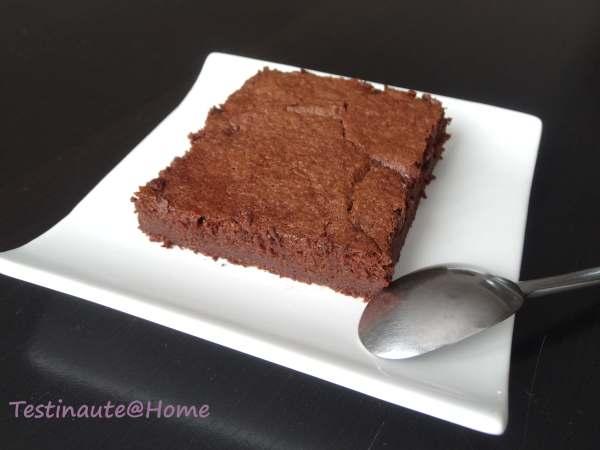 Gâteau fondant chocolat courgette sans beurre