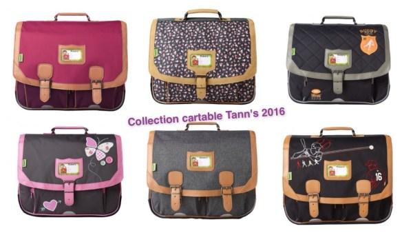 cartable tann's collection 2016
