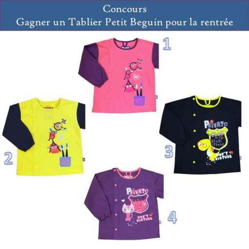 concours Petit beguin blog