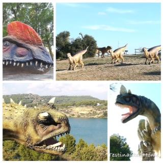 les différentes espèces de dinosaures du parc dinosaur'Istres