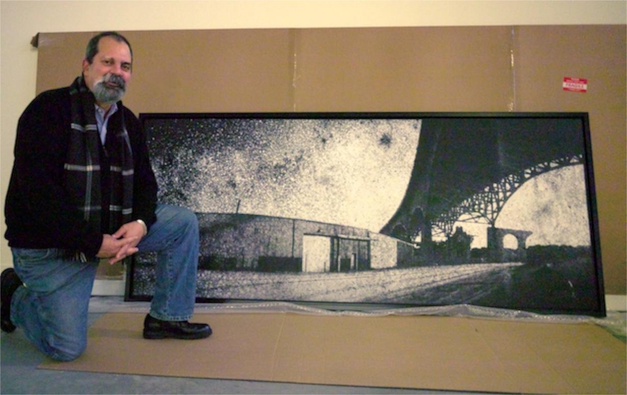 Vaughn With Art