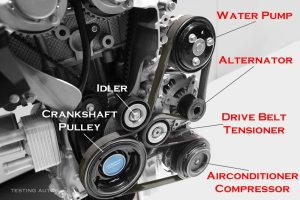When a drive belt should be replaced in your car?