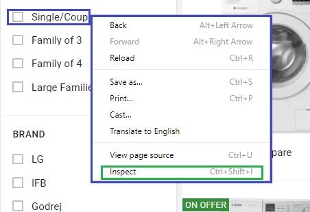 Selenium WebDriver : Locate web element using: CSS | Testingbits com