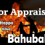 Why Kattappa Killed Baahubali?