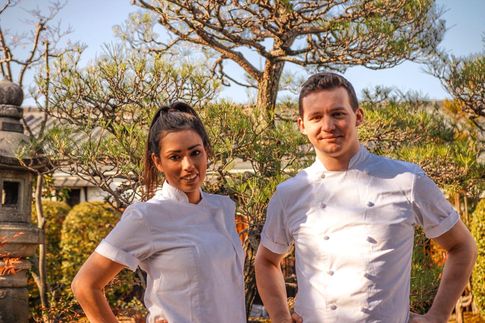 Chef Krzysztof Czerwinski (LONDON) & Wallace Lau (HONG KONG) the Mixologist - Test Kitchen