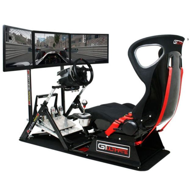 NEXT LEVEL RACING GTUltimate V2 - Racing Simulation Cockpit / PC and Consoles