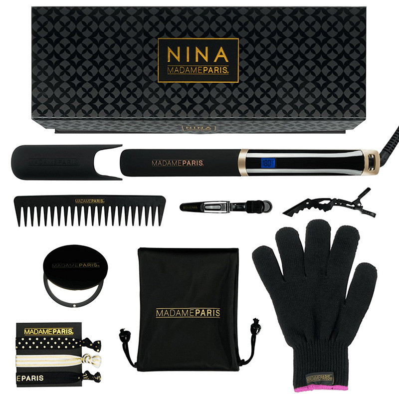 MadameParis - Plancha de pelo Nina - Infrarrojos - Plancha de pelo - Plancha de pelo profesional